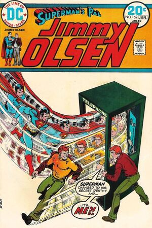 Cover for Superman's Pal, Jimmy Olsen #162 (1974)