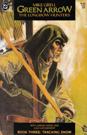 Cover for Green Arrow: The Longbow Hunters #3 (1987)