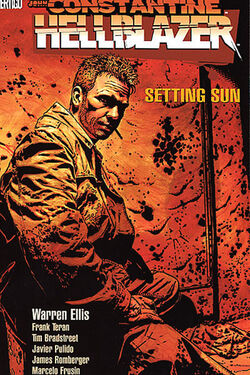 Cover for the Hellblazer: Setting Sun Trade Paperback
