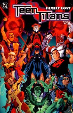 Cover for the Teen Titans: Family Lost Trade Paperback