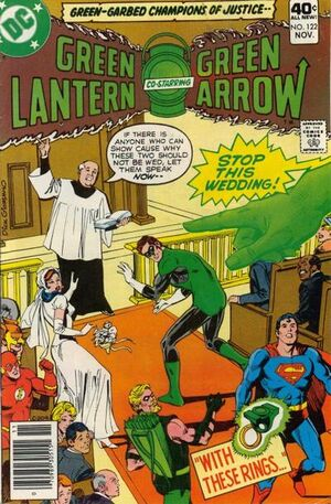 Cover for Green Lantern #122 (1979)