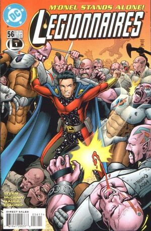 Cover for Legionnaires #56 (1998)