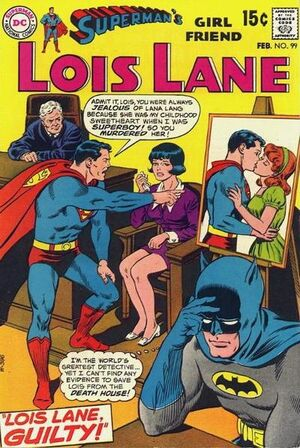 Cover for Superman's Girlfriend, Lois Lane #99 (1970)