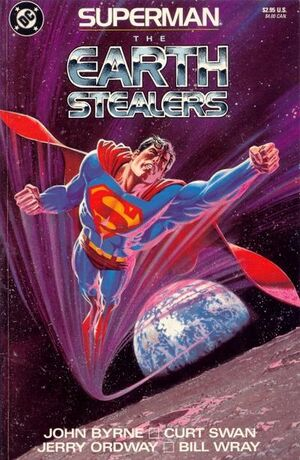 Cover for Superman: The Earth Stealers (1988)