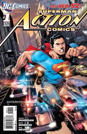 Cover for Action Comics #1 (2011)