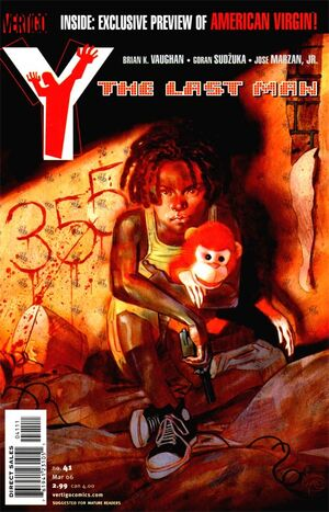 Cover for Y: The Last Man #41 (2006)