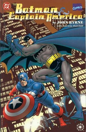 Cover for Batman and Captain America (1996)