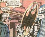 Bat-Signal's Glass Lamp