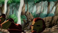 Tony Leaves Lava Armor IIM