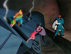 Avengers Save Subway Earthquake