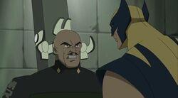Wolverine Tortures Moss WXM