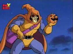 Hobgoblin Readies Pumpkin Bomb
