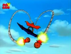 Hobgoblin Launches Smart Bombs