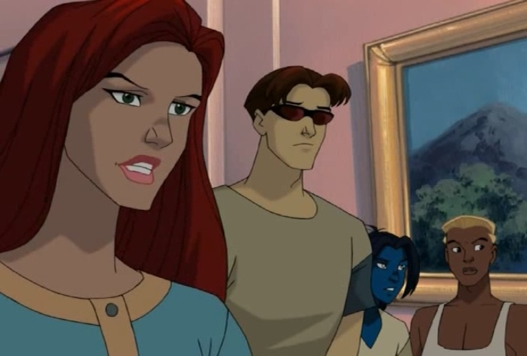 Jean and Scott in charge X Men Evolution Jean And Scott