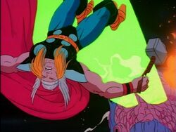 Ego Defeats Thor