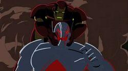 Iron Man Grabs Ultron NAHT
