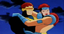 Cyclops thanks Rogue