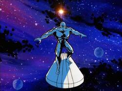 Silver Surfer Space Traveler