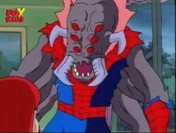 Man-Spider animated