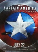 Captain america first avenger shield poster1
