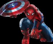 CW Spider-Man Shield Promo