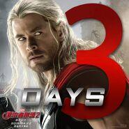 Thor AoU 3 days