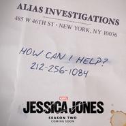 Jessica Jones S2 Key Art
