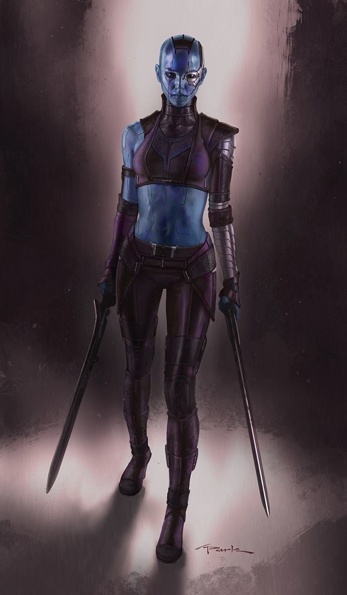 Gotg Nebula Fan Art - Pics about space