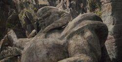 Bor statue