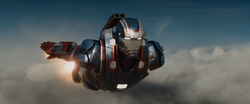 Iron Patriot flies into Battle