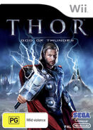 Thor Wii AU cover