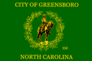 Flag of Greensboro
