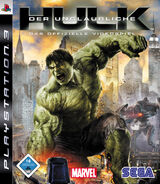 Hulk PS3 DE cover