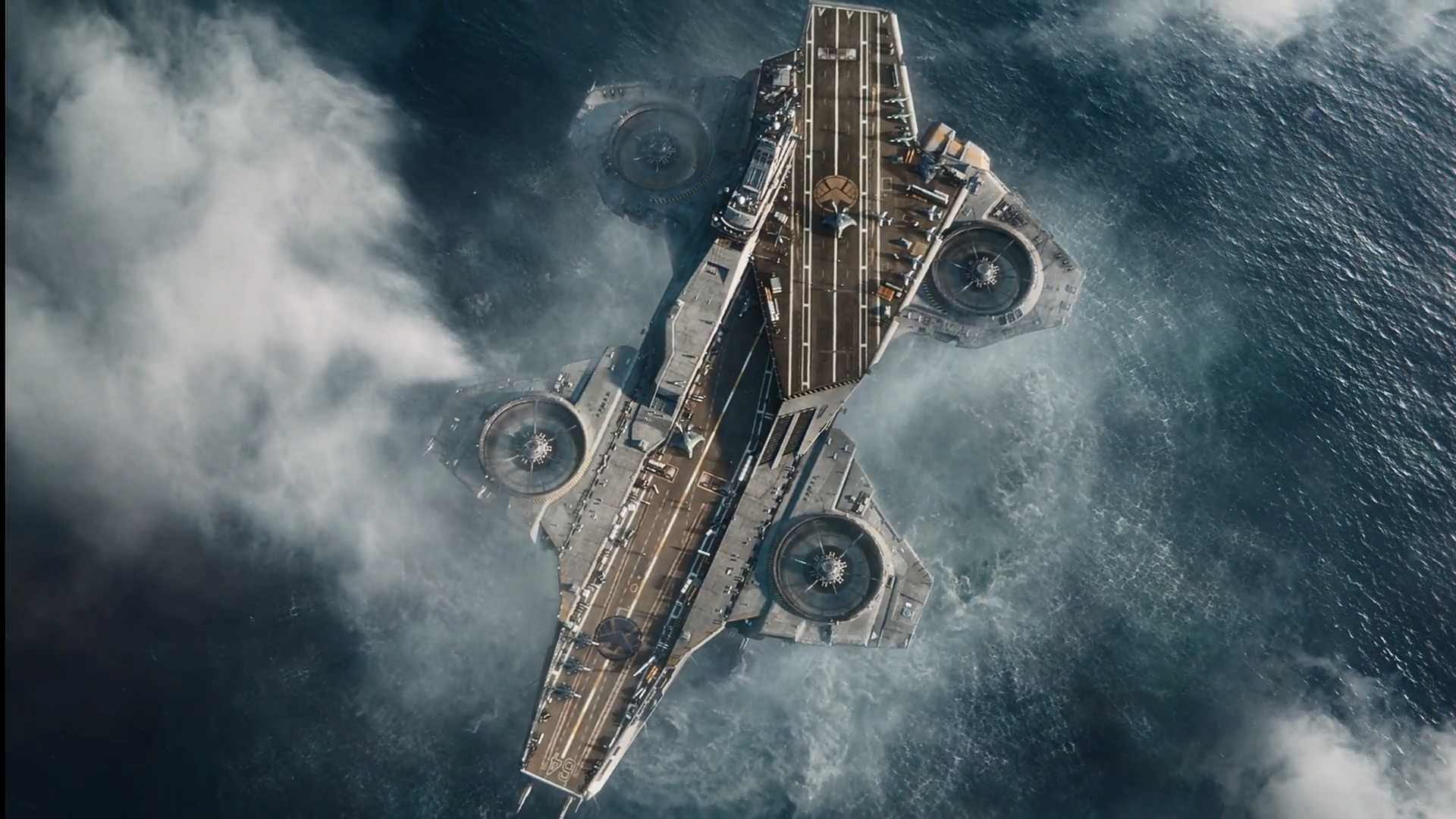 Shield Helicarrier Wallpaper Helicarrier Up-view