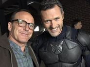 Coulson and Mace BtS