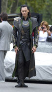 The Avengers Behind the Scenes photos 3
