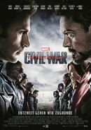 Captain America Civil War German poster