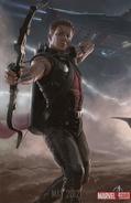 Avengers Poster - Hawkeye