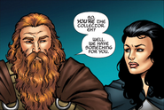 Volstagg and Sif - GotGPIC