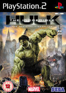 Hulk PS2 UK cover