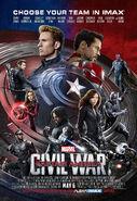 Civil War IMAX Poster