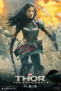 Sif Thor The Dark World Poster