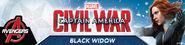 Black Widow Civil War promo