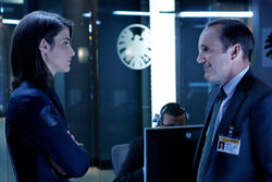 Agents Hill Coulson