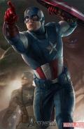 Avengers Poster - Captain America
