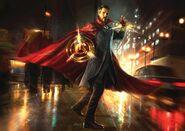 Doctor Strange street Concept Art