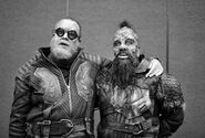 Gef and Taserface BTS