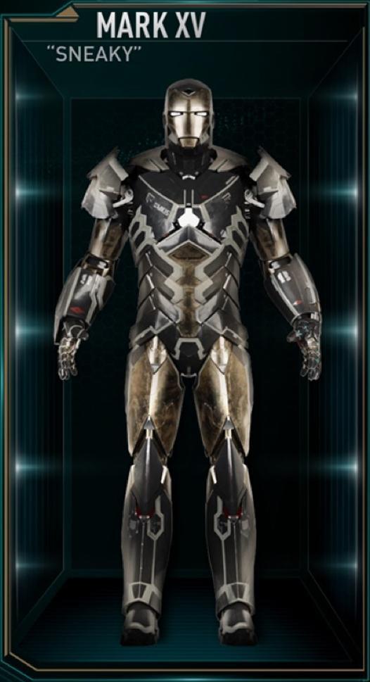 Iron Man Armor: Mark X...