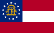 Flag of Georgia state