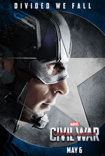 Divided We Fall Captain America poster